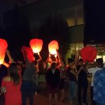 Младежите от Търговище и Монтата пускаха летящи фенери.