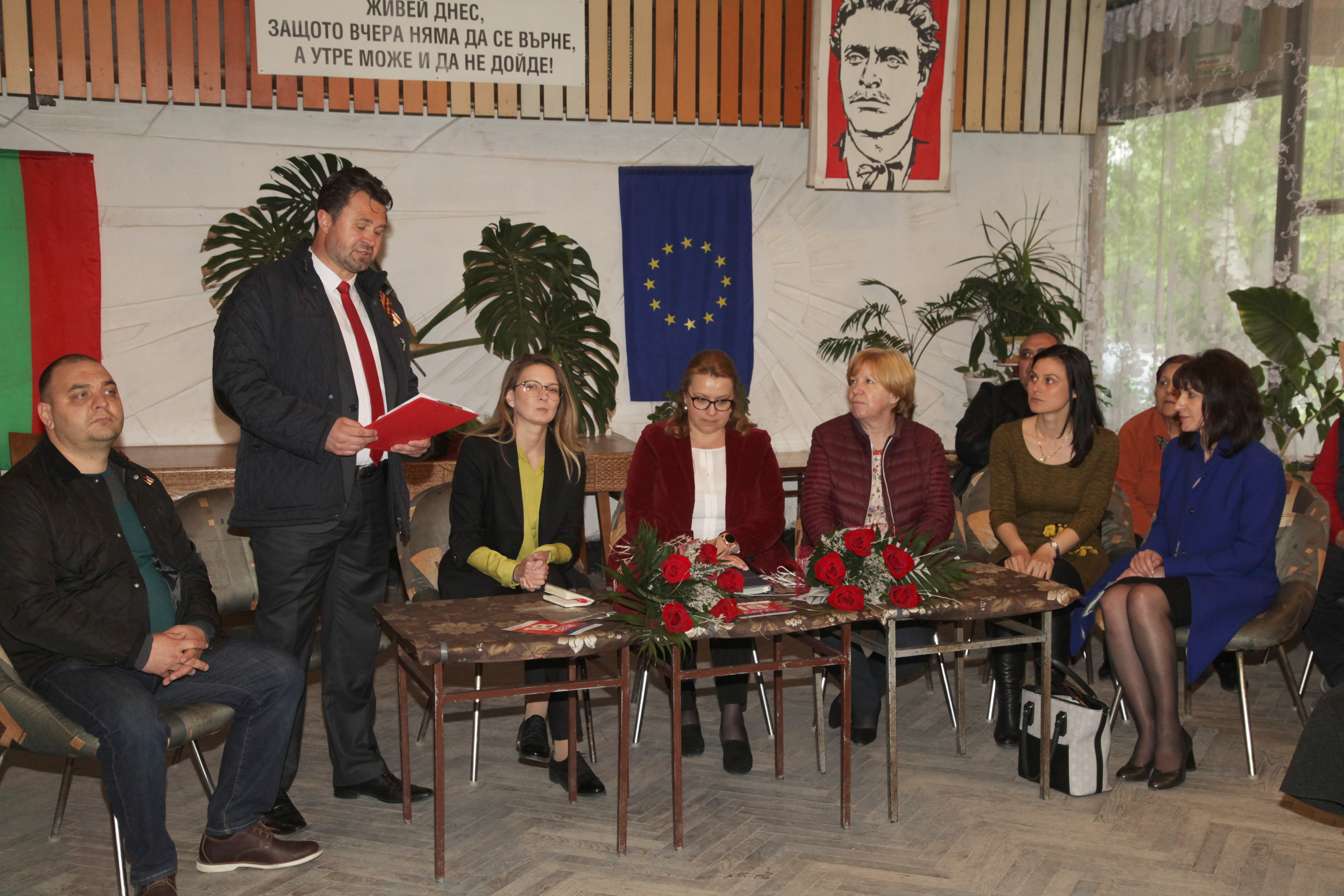 Среща с кандидатите за евродепутати Деница Златева и Цветелина Пенкова