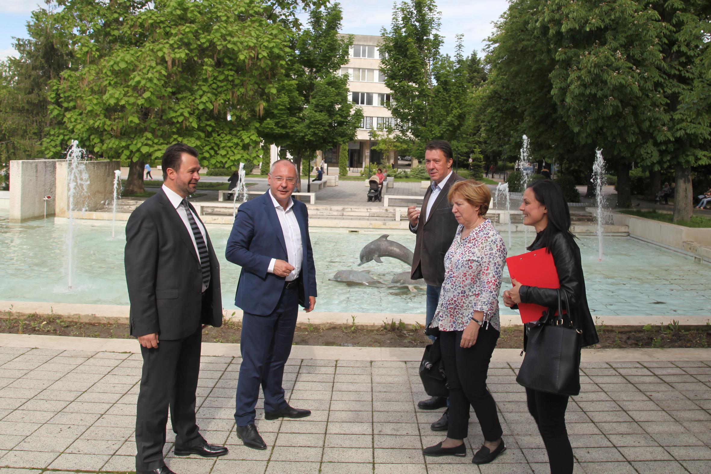 Станишев в Търговище: Време е да изведем приоритетите за България за следващия бюджет на ЕС