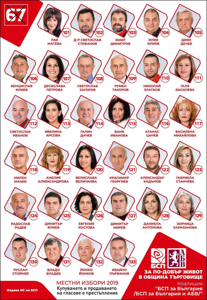 БСП за България - Нашите кандидати за европейския парламент